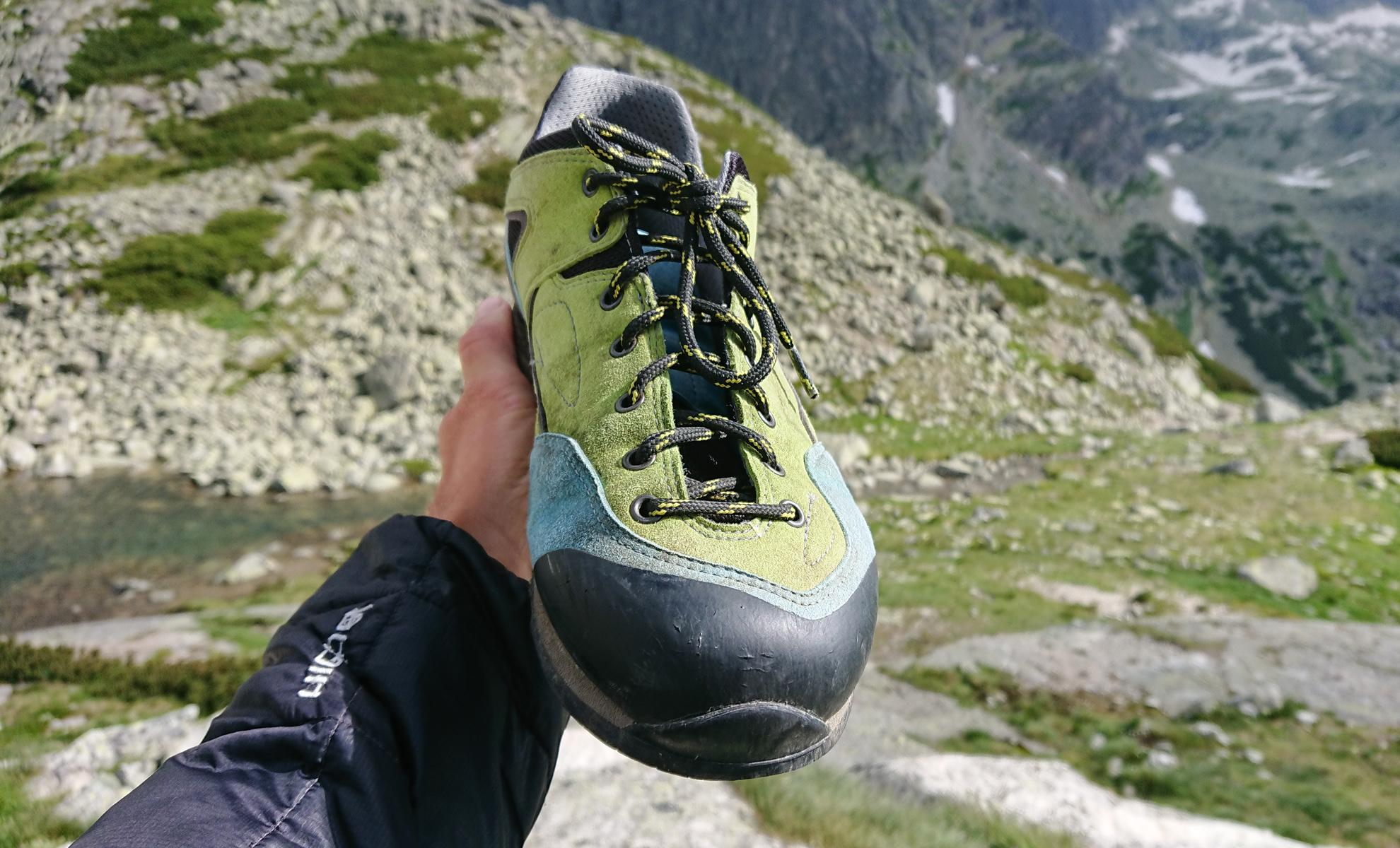 Bosp Grifit trekingové topánky vhodné aj na nástupy do Tatier