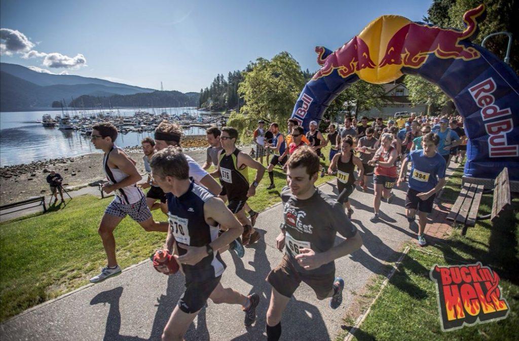 Štart Bucking hell ultra maratónu