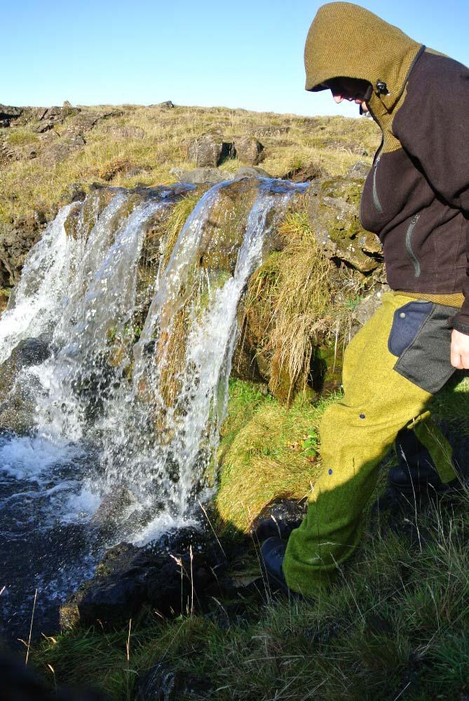 Merino bunda Gorazd na islande od Black hill outdoor perfektne dýcha pre turistiku