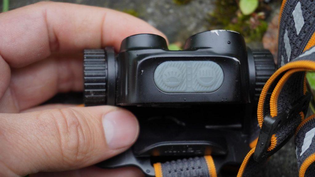 FENIX HM65R a dve ovládacie tlačidlá pre reflektory, outdoor recenzia