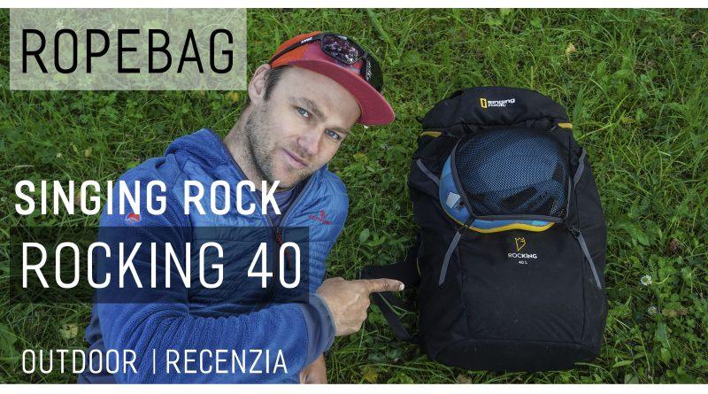 Rocking 40 |Lezecký batoh od Singing Rock