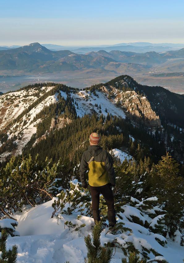 Pánska bunda Forester od Black hill outdoor v Nizkych Tatrách
