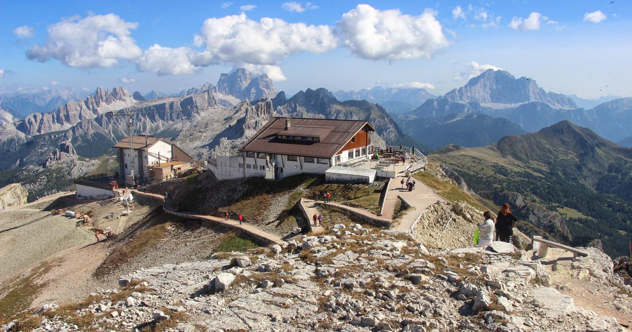 Rifugio Lagazuoi, Dolomity