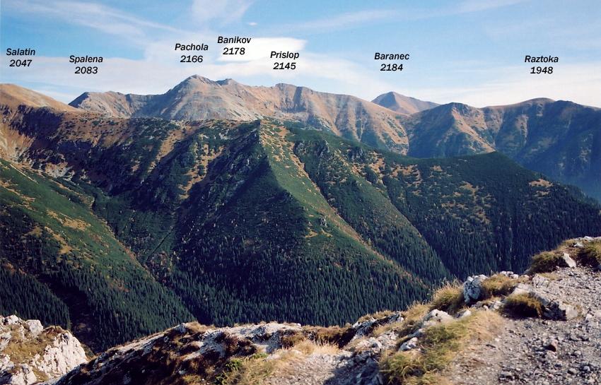 Výhľad zo Sivého vrchu (zdroj: summitpost.org)