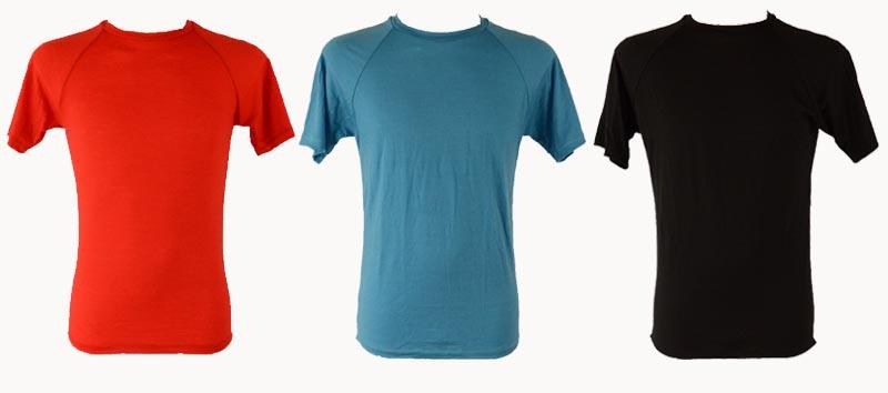 Merino tričko Kamenec (v červenej, modrej a čiernej farbe)