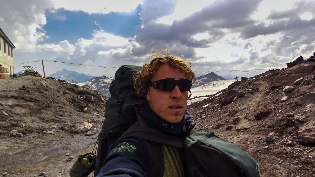Expedícia Kaukaz BlackHill outdoor merino vlna
