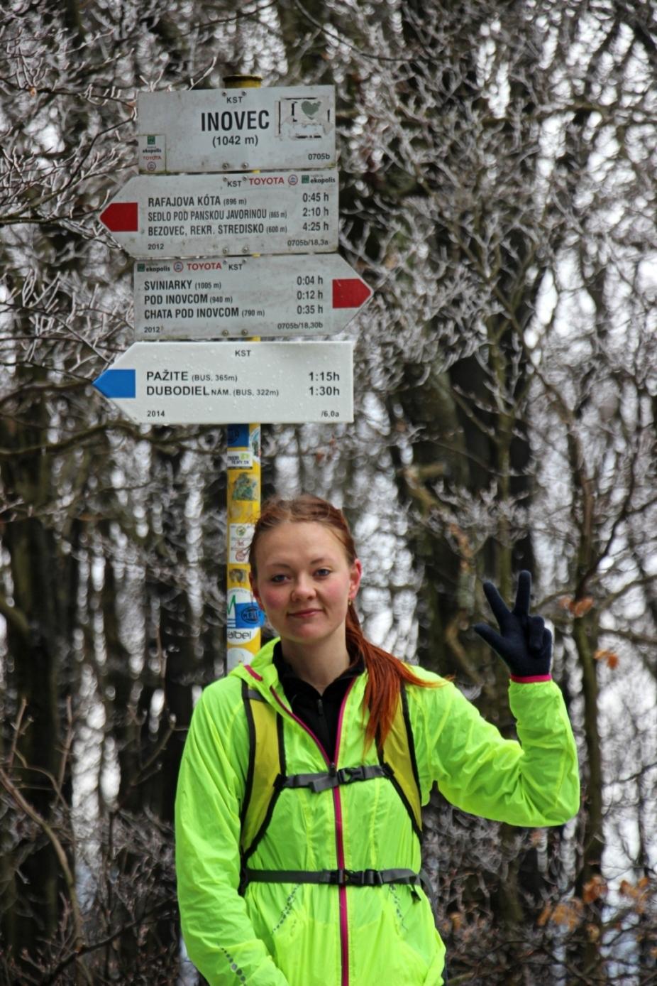 """Na vrchole počas Inoveckého """"maratónu"""" koncom marca - tretí výstup zo Selca už bez hmly a s topiacim sa snehom"""