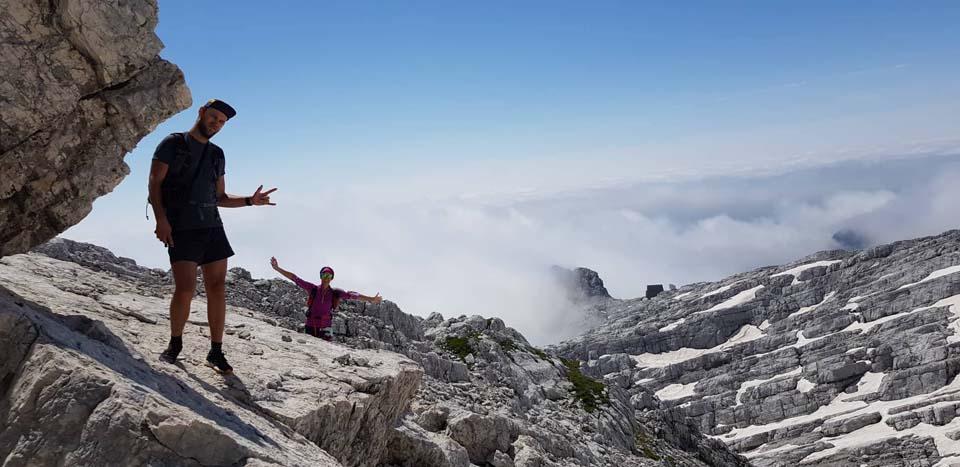 Julské Alpy, Slovinsko: to je dvojka, Tyger a Zuzka