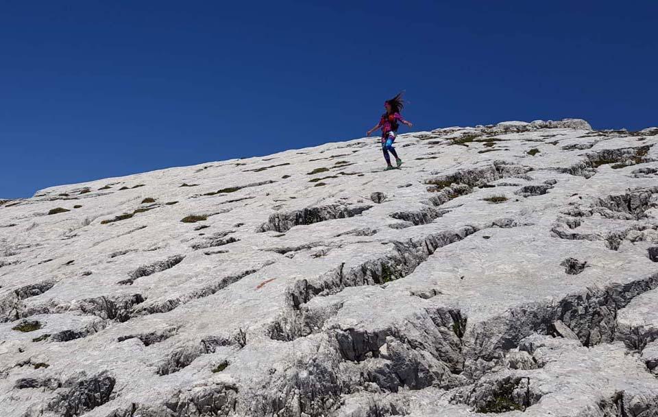 Športové legíny Yoginess v julských Alpách