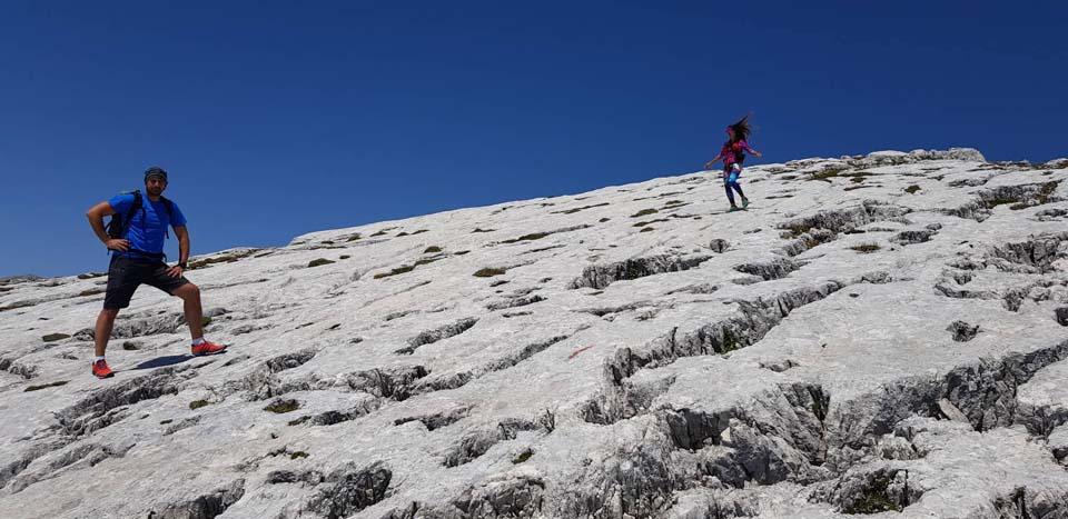Julské Alpy, Slovinsko: zaujímavá skala