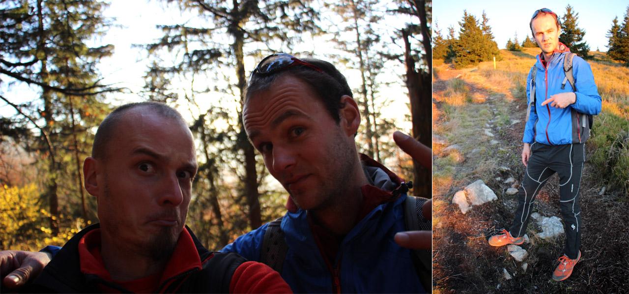 Petrík a Tyger cestou hore druhý krát