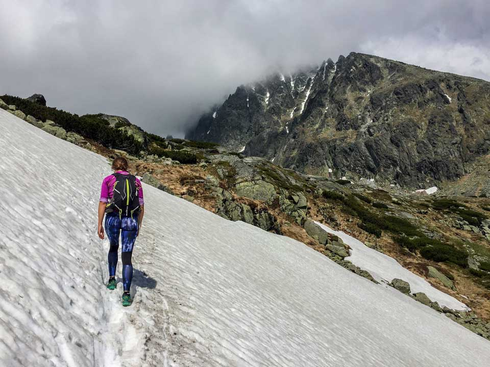 Testovanie dezodorantov na horskom behu vo Vysokých Tatrách