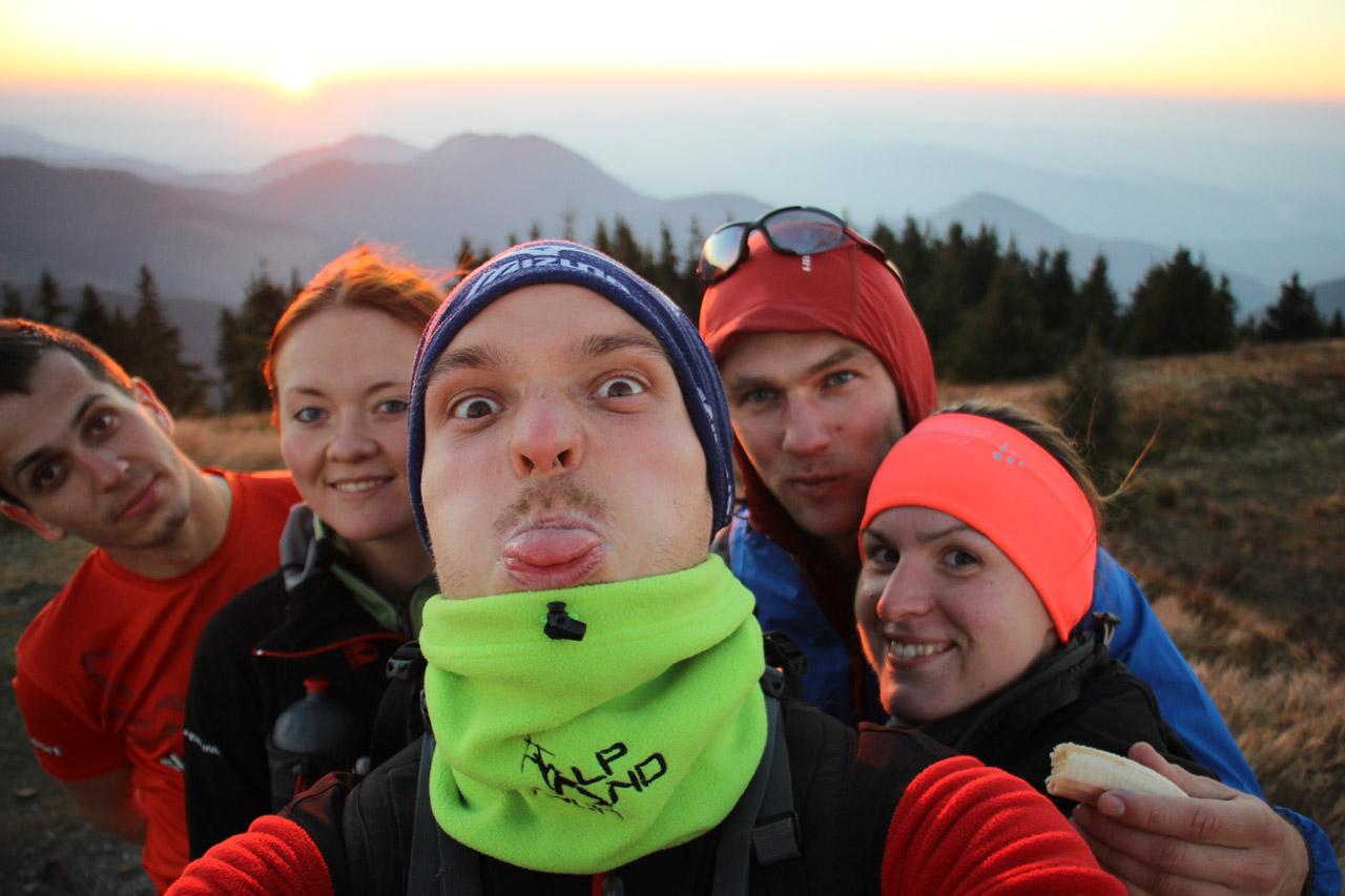 Selfie na vrchole