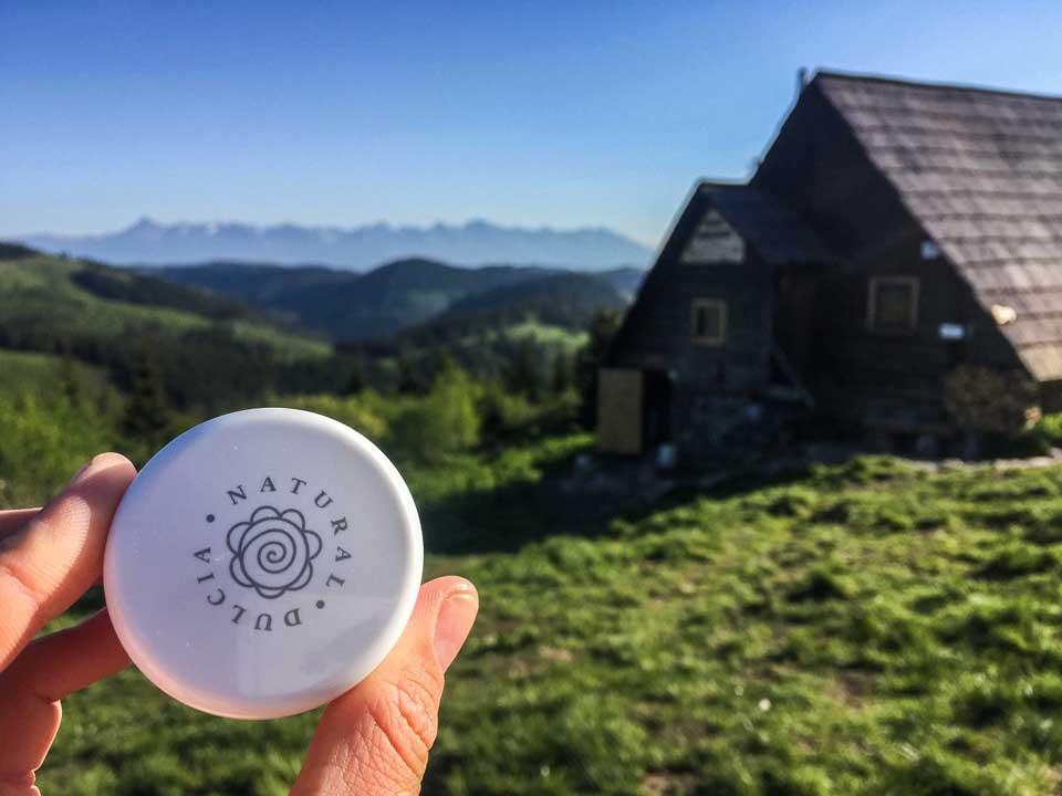 Prírodný dezodorant Dulcia Natural bol skvelo účinný na hrebeňovke Nízkymi Tatrami