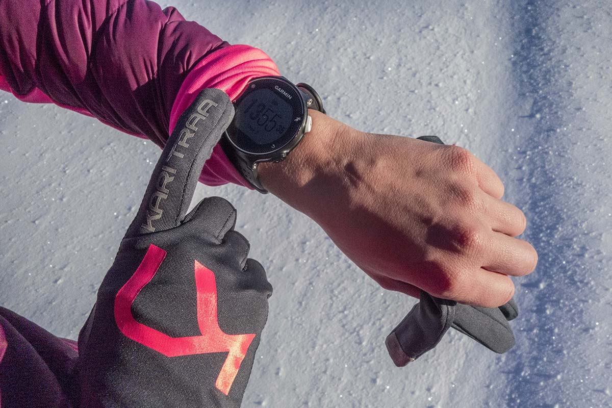 Zimné bežecké doplnky Karitraa rukavice