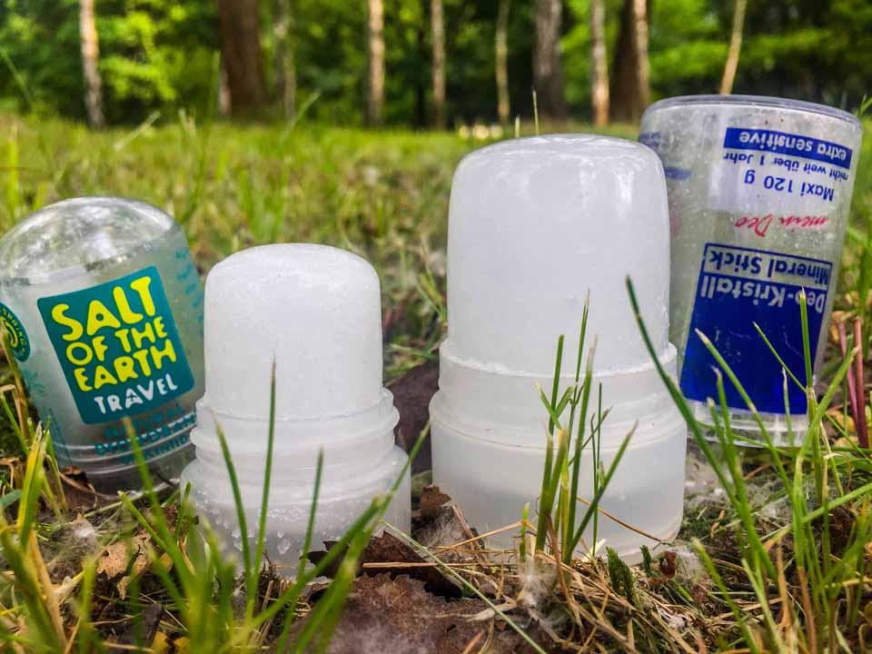 Prírodný dezodorant soľný krištáľ v cestovnom a klasickom prevedení