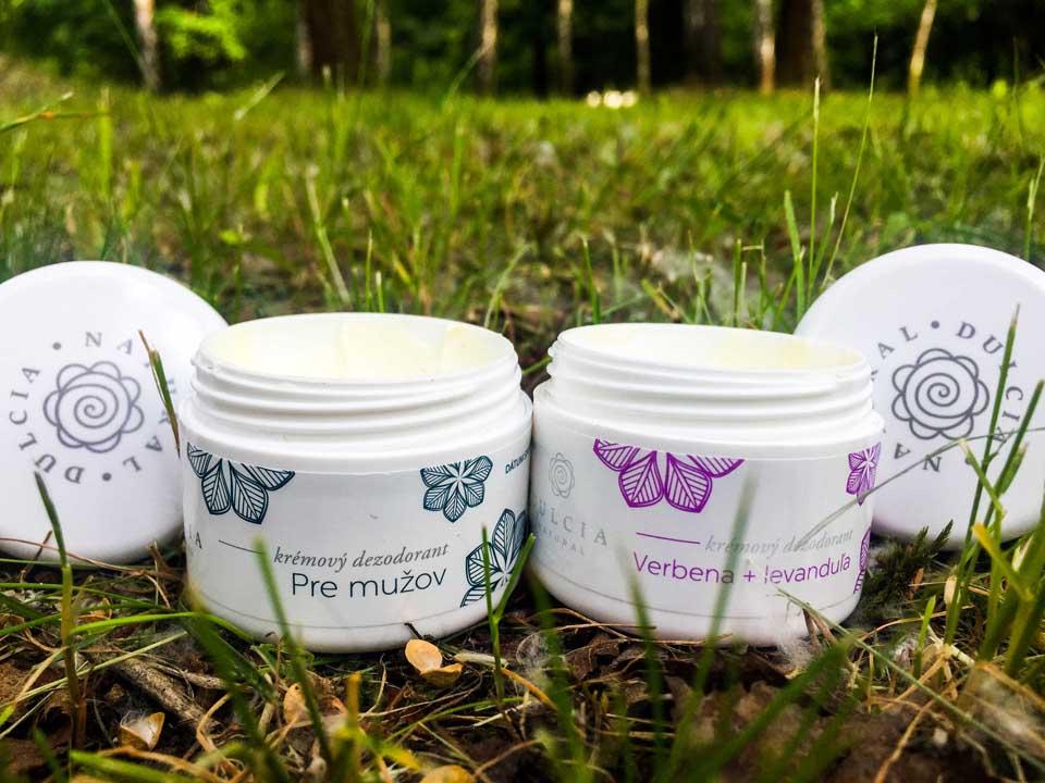 Prírodný dezodorant Dulcia Natural pre mužov a ženy