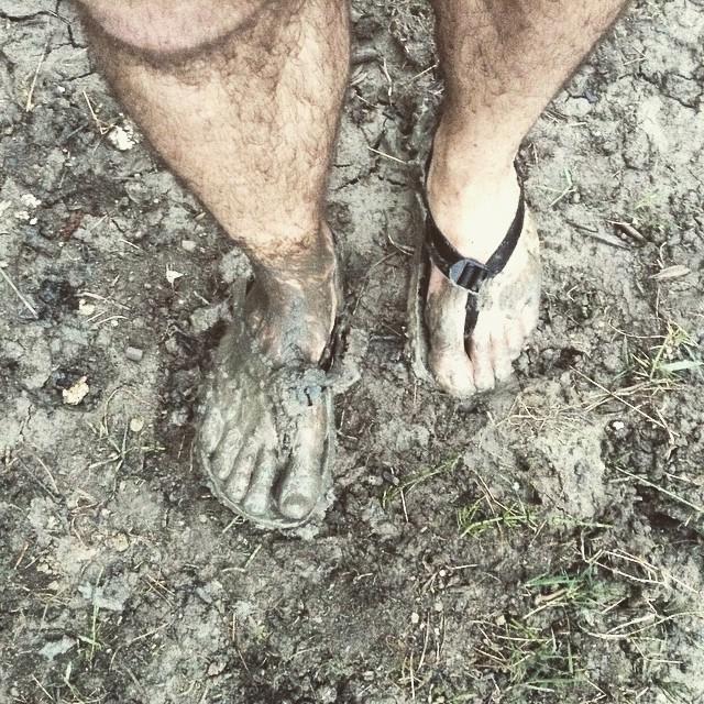 barefoot Luna sandale pocas behu v blate