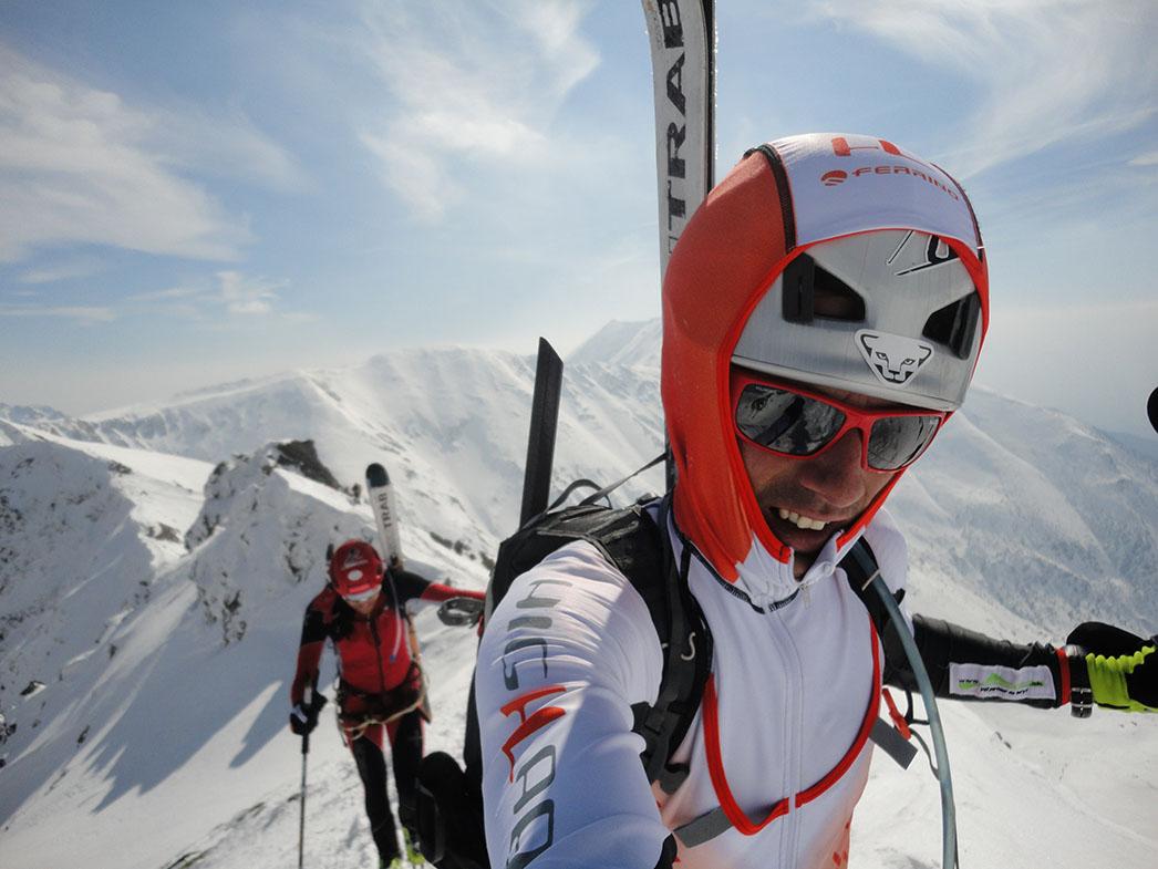 Bokami Západných Tatier na hrebeni
