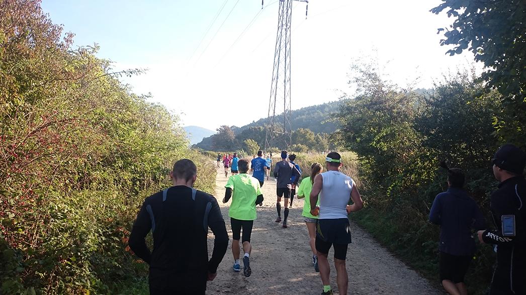Beh cez Vápeč 2015 po prvotnej asfaltke