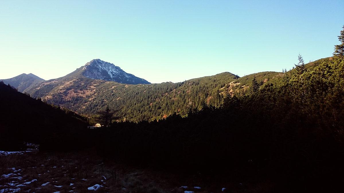 západné tatry sivý vrch v pozadí