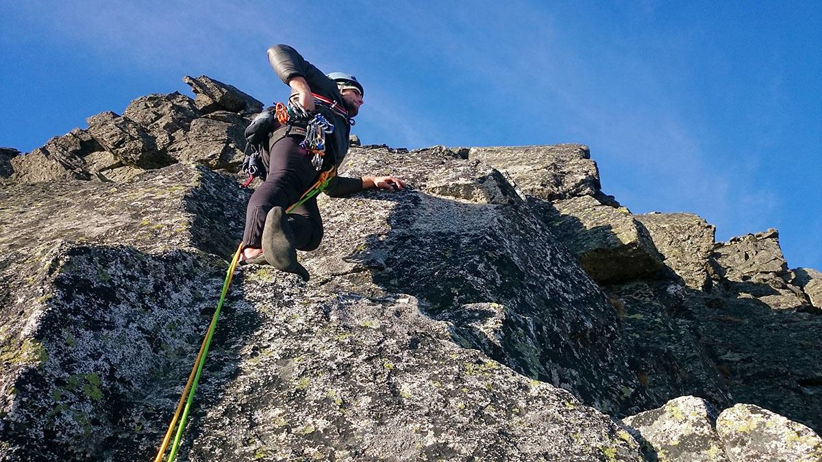 Vladino v relaxe tesne nad tretím vrcholom, Štáflovka