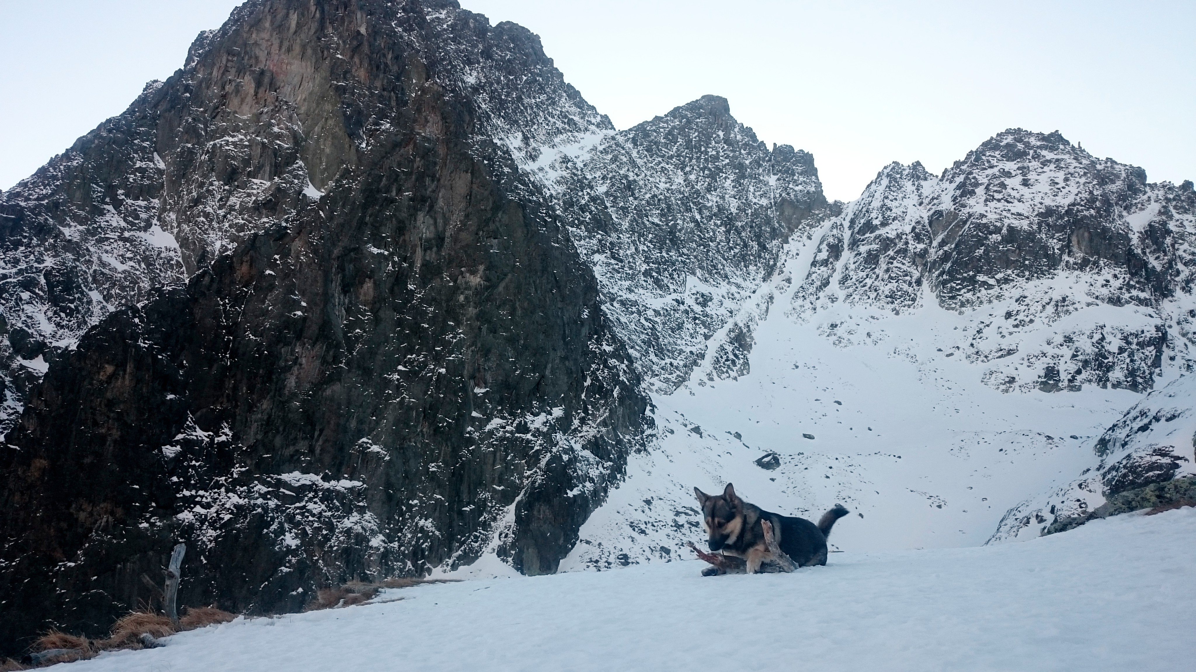 Žltá stena, zimná výzva pre makačov horolezcov, Téryho chata