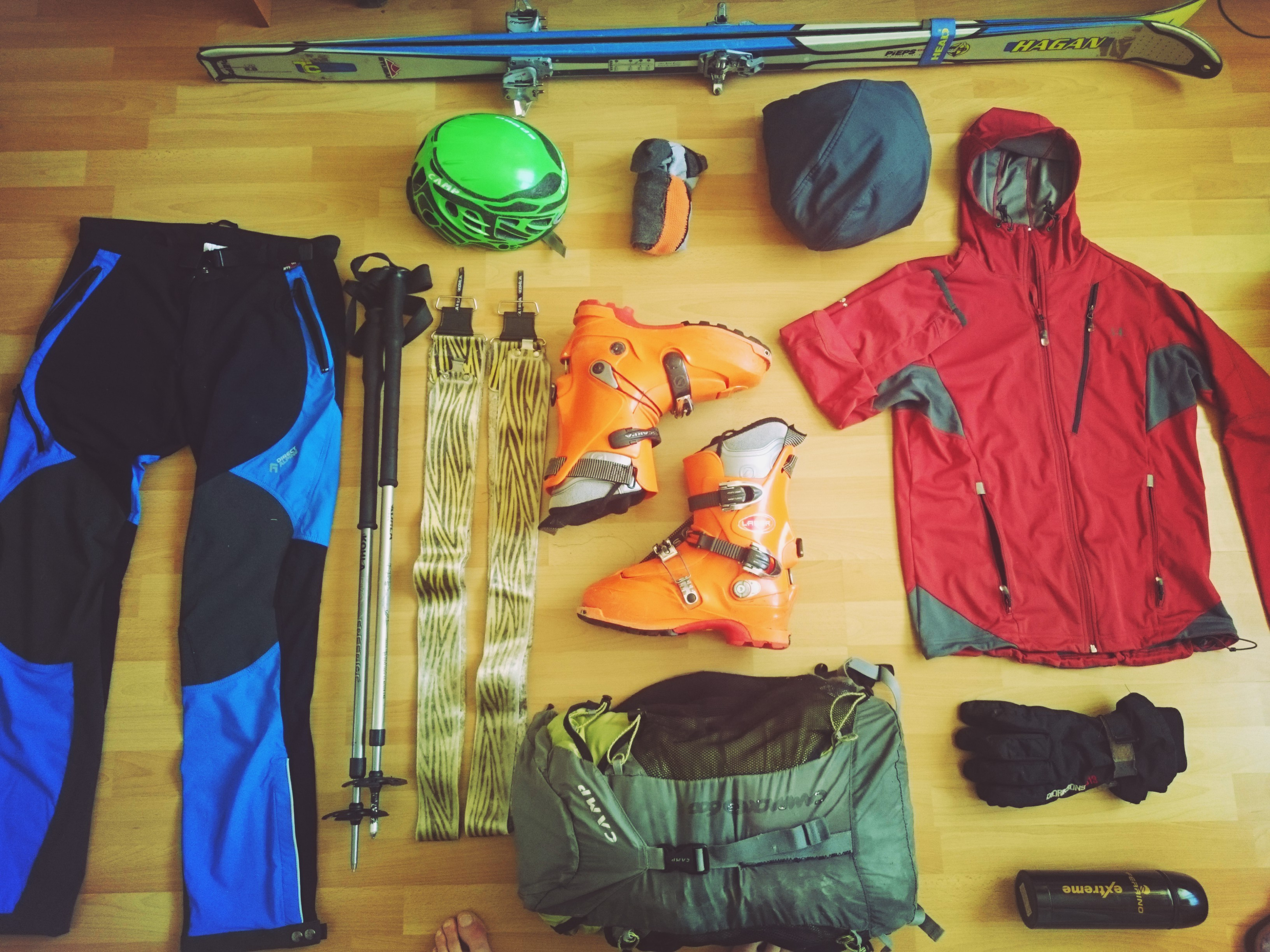 Skialpinistické nohavice Cascade plus od DirectAlpine