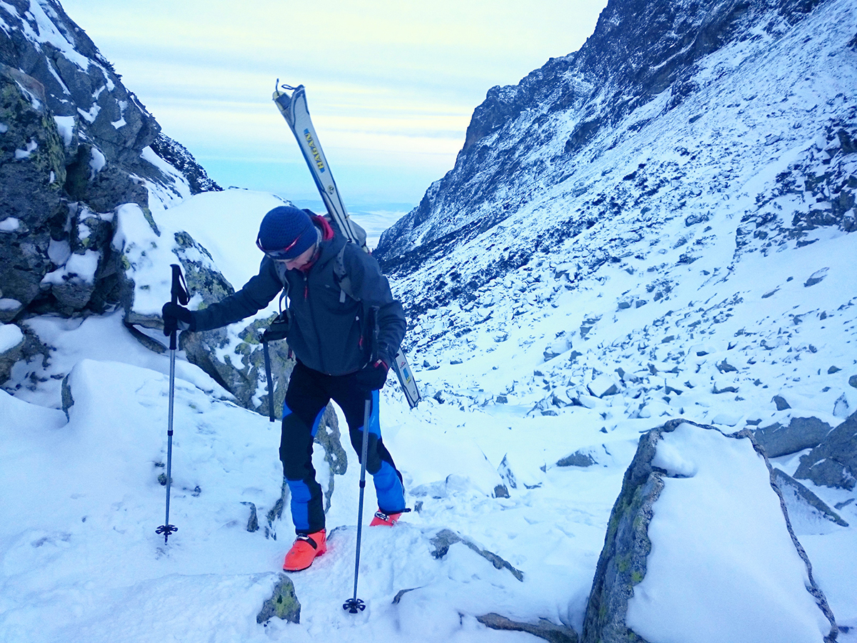 Skitouringové nohavice Cascade plus DirectAlpine