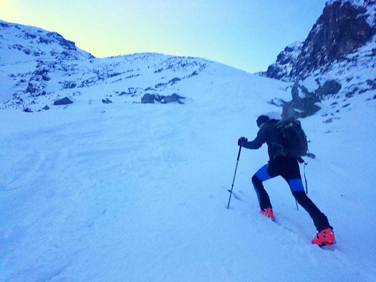 Cascade skitouringové nohavice na skialpinizmus