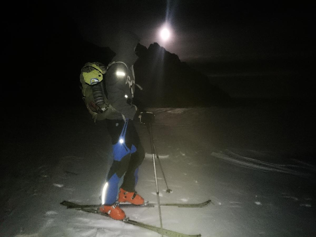 Cascade plus nohavice, skitouringová výbava