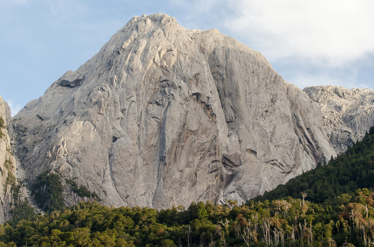 Trinadat stena v Severnej Patagónií