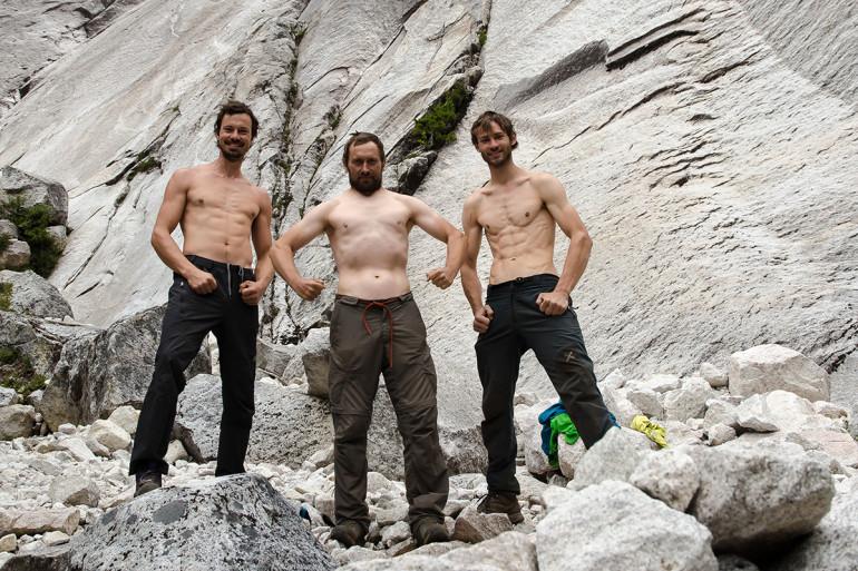 Slovenskí lezci pod El condor Pasa