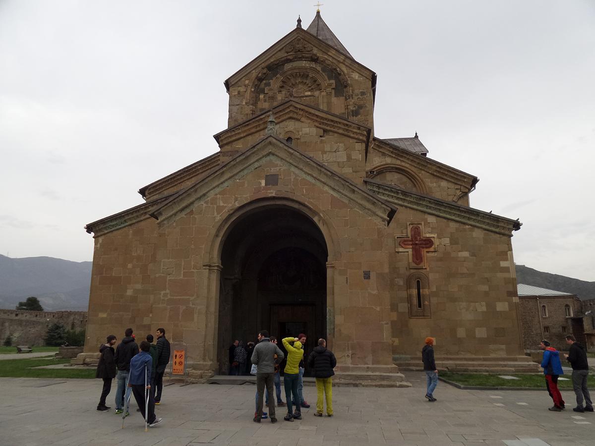 Chrám pravoslávny v Gruzínsku