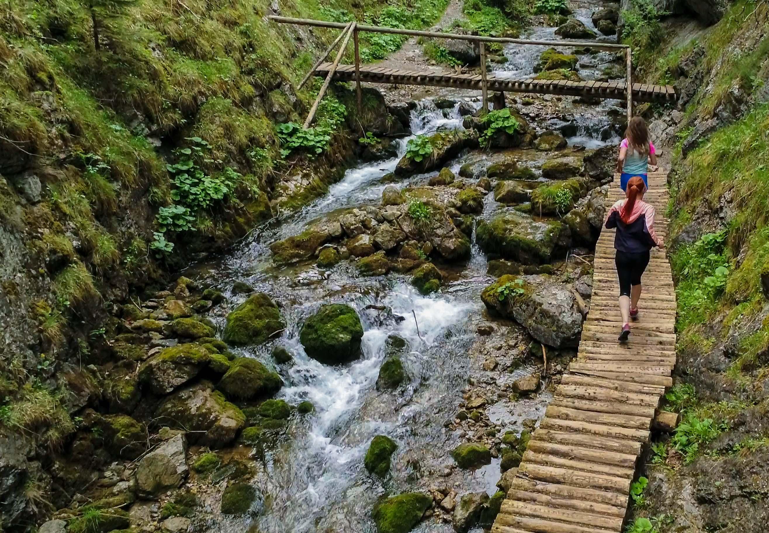 Krásna bežecká trasa Kvačianska - Prosiecka dolina
