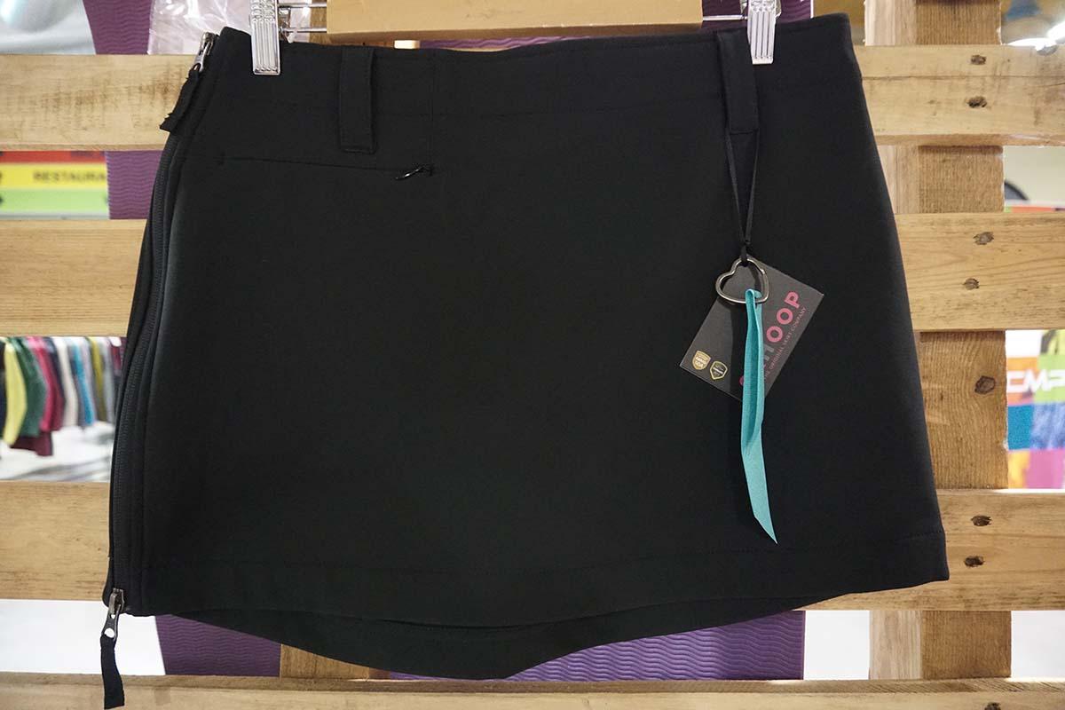 Outdoorové sukne na leto Skhoop čierna