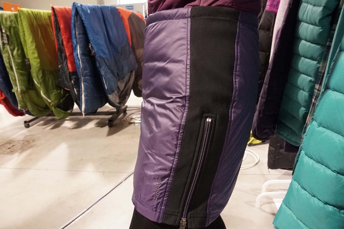 zateplená sukňa skhoop na výstave Ispo 2018