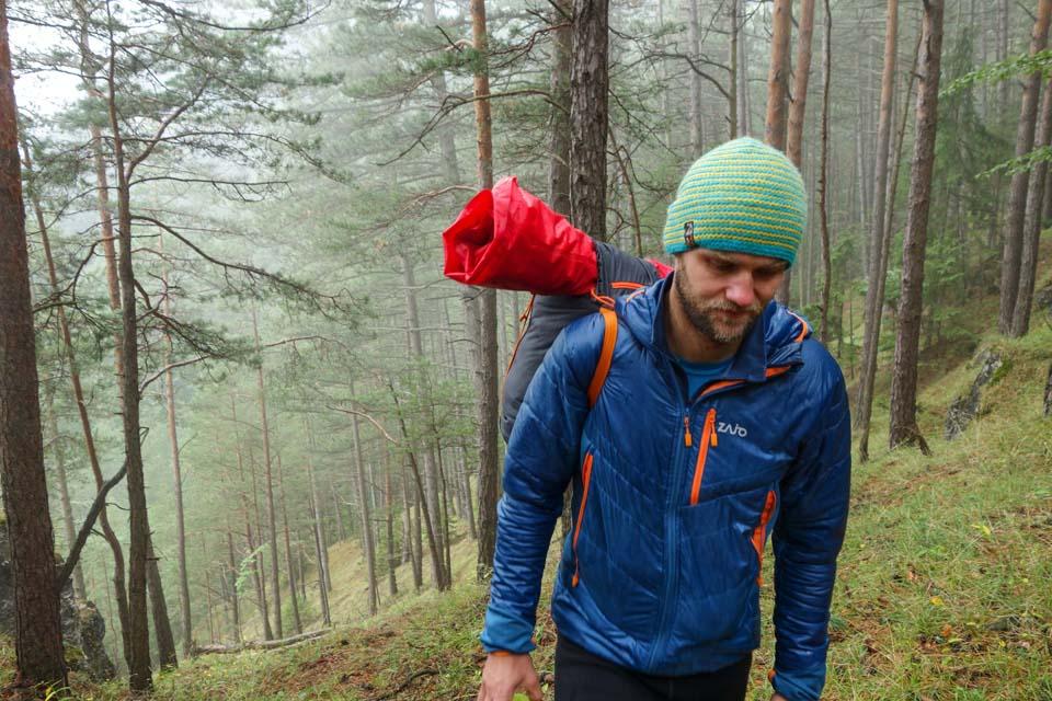 Strážovské lesy a športové oblečenie
