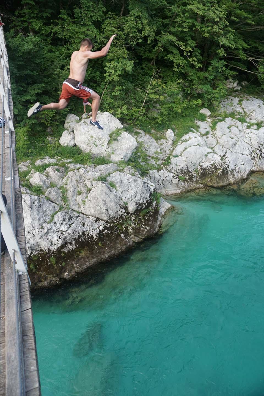 Splav rieky Soča, Slovinsko: Ľubošove adrenalínové zábavky