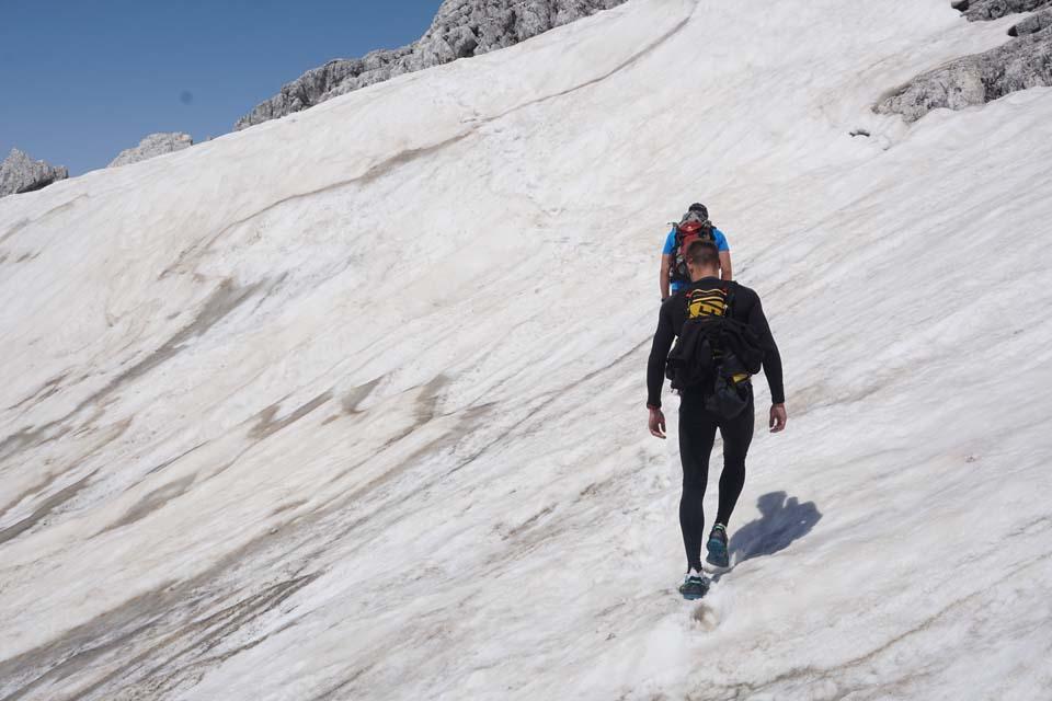 Julské Alpy, Slovinsko: zbytkom snehu sme sa nevyhli
