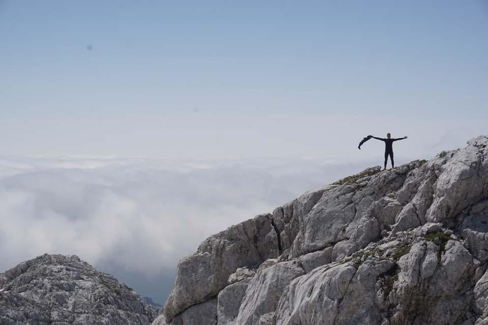 Julské Alpy, Slovinsko: Ľuboš si to naozaj užíval