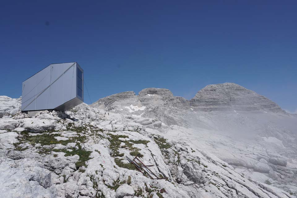 Julské Alpy, Slovinsko: krásny bivak