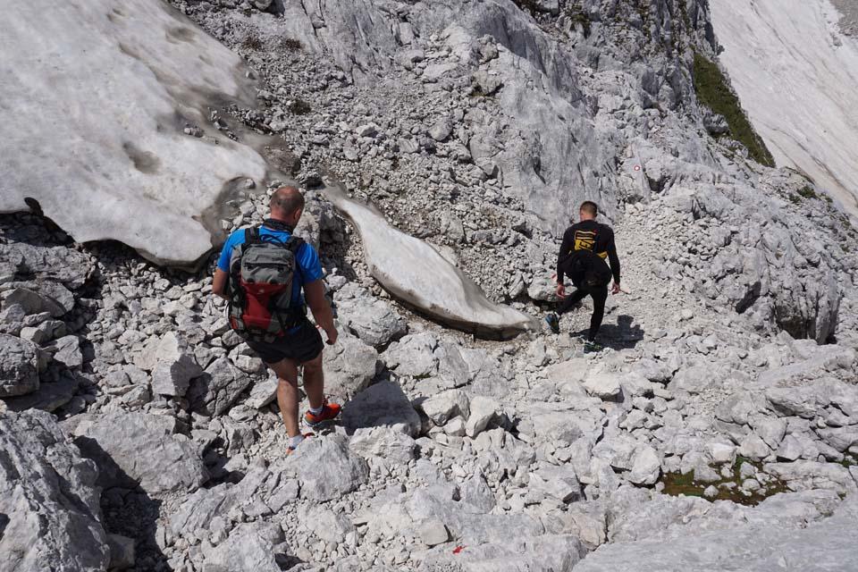 Julské Alpy: cesta necesta