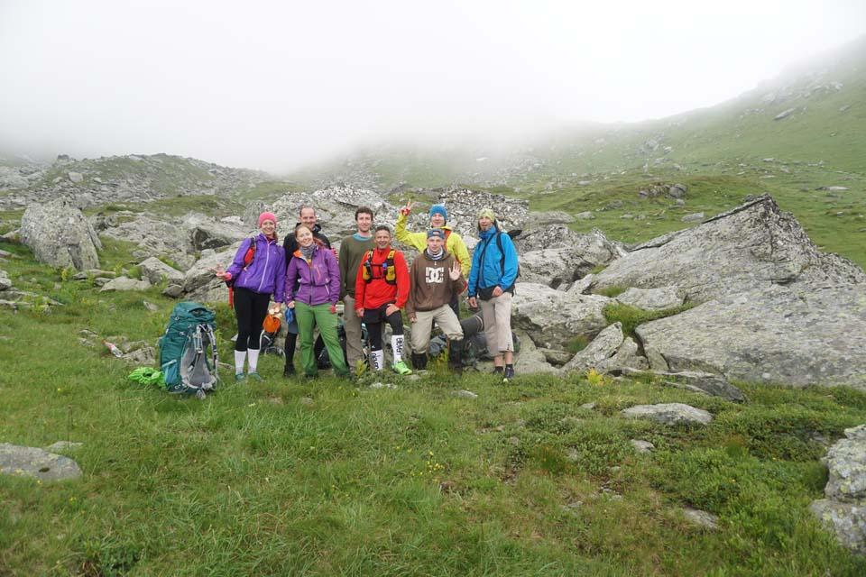 Česká partia Najvyšší vrch Kosova - Djeravica 2656 m.