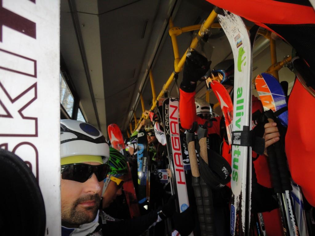 Bokami západnych tatier: Najväčší počet skialpinistov ma metri štvorcovom metri