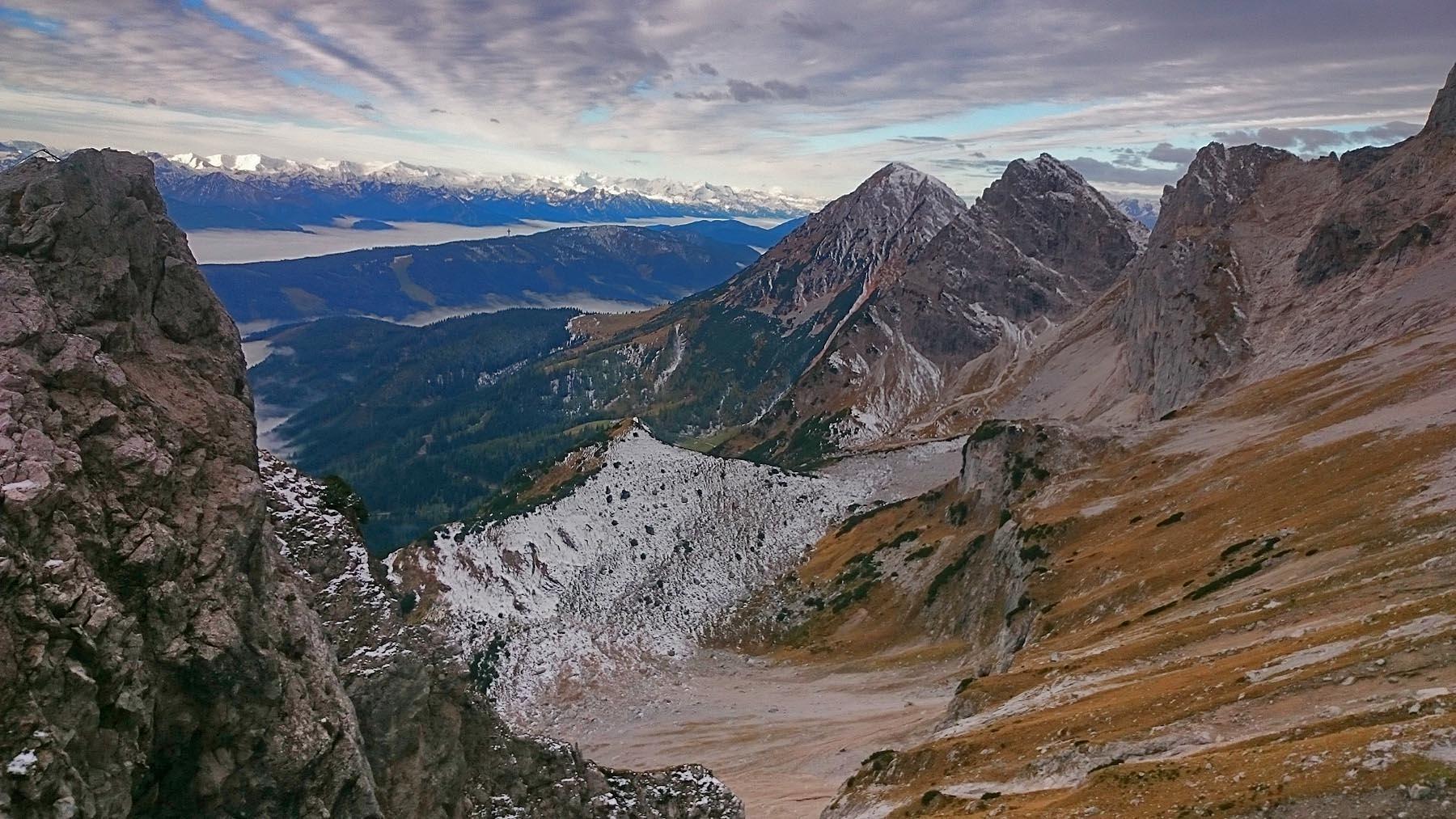 Dachstein I - Posledný pohľad z výšky