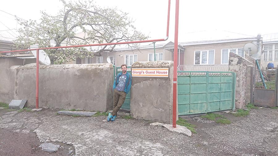Ubytovanie v Stepantsminda dedinke pod KAzbegom