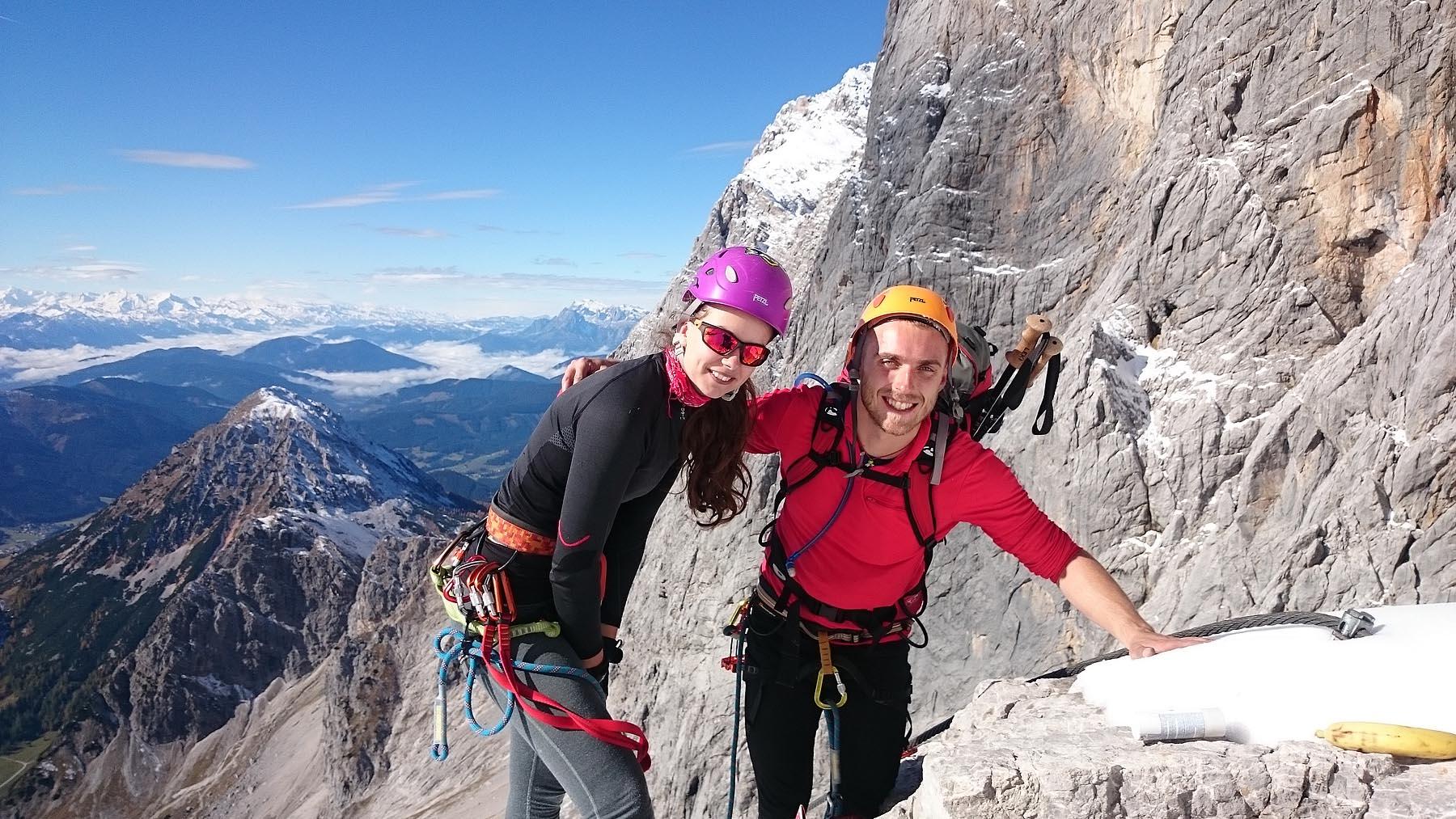 Dachstein I - Dnes je fakt krásne a užívame si každy krok