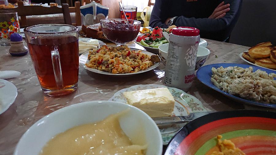 Ubytovanie a jedlo v giorgis guest houese