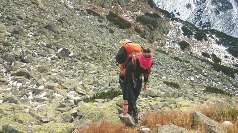 Popradským hrebeňom - Stúpame Dračou dolinkou
